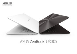 ASUS introduces the slim, featherweight powerhouse 'ZenBook UX305'