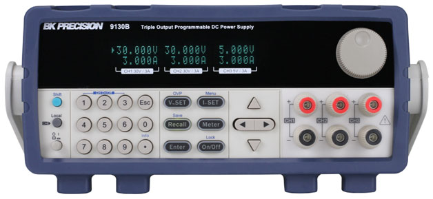 B&K Precision Launches New Programmable Triple Output DC Power Supplies