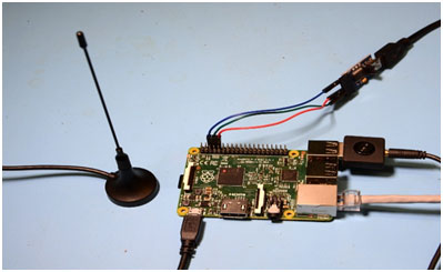 Taking the Raspberry Pi 2 for a Test Drive with GNU Radio