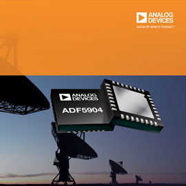 Analog Devices 4-Channel, 24-GHz Receiver Downconverter Delivers Industry's  Best Noise and Power Performance in Space-Saving Package