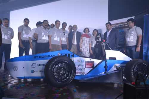 TE Connectivity Powers New EVo 4.0 Electric Car Developed by Indian Institute of Technology Bombay Racing Team