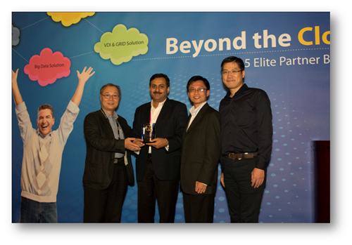 Rashi wins Best Distributor Award at Computex, Taipei