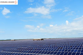 Sterling and Wilson Sets Up 32 MW Solar PV Power Plant for Hero Future Energies