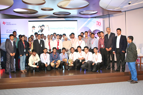 Radar for 3D Automotive Imaging lights up Texas Instruments India Innovation Challenge