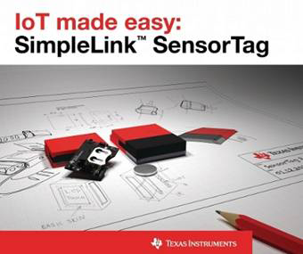 Connect sensors to the cloud in less than three minutes with TI's new SimpleLink™ SensorTag