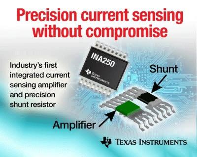 TI INA250 current-sense amplifier
