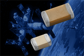 Vishay Intertechnology MIL-PRF-123-Qualified MLCCs Deliver Space-Level Reliability in Seven SMD Packages