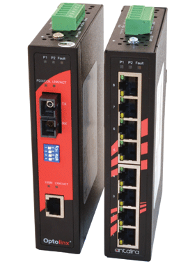 New Rugged Industrial Ethernet Switches and Media Converter