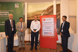 IPCA Electronics Expo 2015 witnessed the Grand Launch of RS India DesignSpark PCB Contest 2015