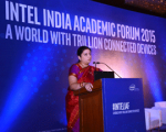HRD Minister Smriti Irani inaugurates The Intel India Academic Forum 2015