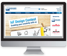 Mouser Kicks Off 2016 IoT Design Contest with Murata and Broadcom