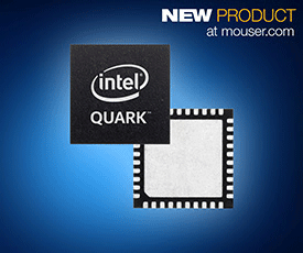 New x86-Based Intel Quark Microcontroller and Developer Kit D2000 Now Available at Mouser