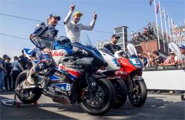 Murata DC-DC convertors drives University of Nottingham electric superbike to 3rd place win in Isle of Man TT Zero race