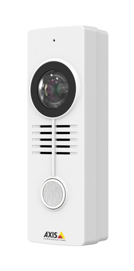 Small And Powerful Network Video Door Station From Axis