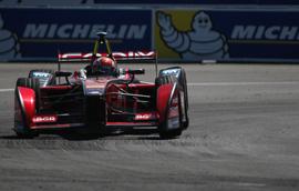 Mouser-Sponsored Formula E Team Finishes Season on Podium in London