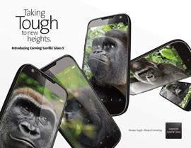 Corning Unveils Corning® Gorilla® Glass 5
