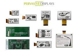 Kick-start e-paper development with a Gen 2 Extension Kit from Pervasive Displays