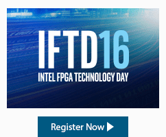 Intel FPGA Technology Day 2016