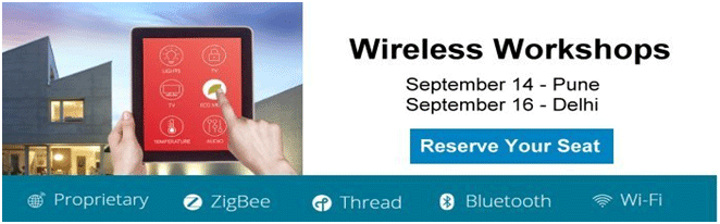 Get register for Silicon Labs Wireless Workshop