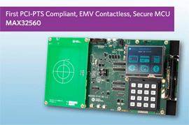 Maxim's DeepCover® Secure Microcontroller Simplifies EMV Contactless Payment Terminals