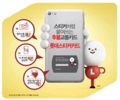 LotteCard uses Gemalto's Contactless Sticker for payments and transport in South Korea