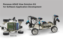 Renesas Electronics Delivers All-in-One ADAS View Solution Kit