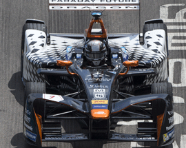 Mouser-Sponsored Formula E Team Preps for Desert Contest