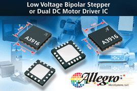 Allegro Microsystems Llc Announces New Low Voltage