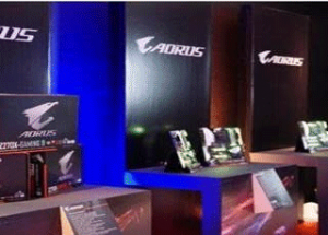 GIGABYTE Demonstrates Its Latest Unique Gaming Products and Systems