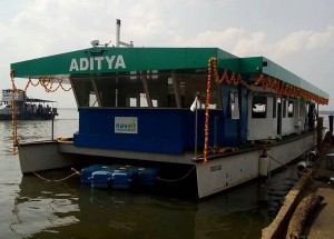 NavAlt Launches ADITYA and gives India it's First Solar Ferry