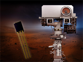 TT Electronics' sensors heading for Mars in 2020!