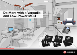 Latest PIC® MCU family brings ease of design with more core independent peripherals