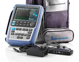Handheld oscilloscope from Rohde & Schwarz now offers the functionality of eight test instruments