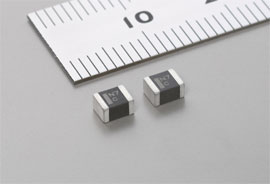 Polymer aluminum capacitor for mobile devices is world's first in B case size