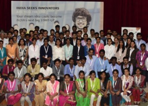 Student innovators demonstrate disruptive ideas in the semi-finals of 7th India Innovation Challenge Design Contest