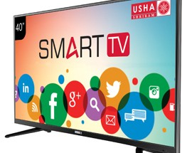 "Usha Shriram unveils Panther Series of Smart HD & Full HD LED 80CM (32"") and 102cm (40"") Televisions on AMAZON & PAYTM"