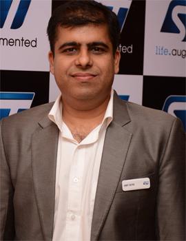 Amit Sethi, Marketing Manager - RF/NFC & NVM, STMicroelectronics India