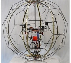 DOCOMO Develops World's First Spherical Drone Display