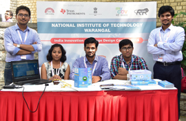 The project of Live Electricity Severance System by the students of National Institute of Technology, Warangle
