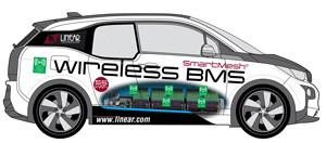 Linear Technology Demonstrates Breakthrough Wireless Battery Management System in BMW i3 at Hannover Messe