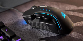 Introducing the CORSAIR GLAIVE RGB Gaming Mouse