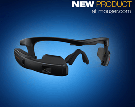 Significant Efficiency Gains and Cost Savings with New Intel® Recon Jet™ Pro Smart Glasses now Available at Mouser
