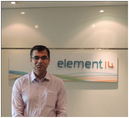 Ravi Pagar, Regional Director - South Asia and Asean at element14