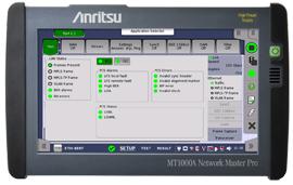 Anritsu Enhances Field-portable Network Master™ Pro