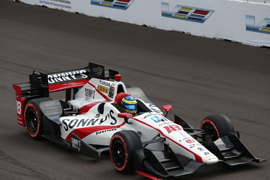 Mouser/Molex- Sponsored Car Runs Strong at Indy 500, Heads to Detroit