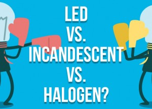 LED Lights vs Halogen vs Fluorescent Lighting