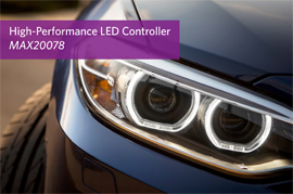 Maxim's Automotive LED Controller