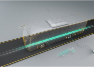 Wireless road technology charges electric vehicles as they travel