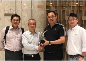 Molex Taiwan Presents Heilind Asia with APS Regional Distributor of the Year 2016