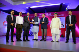 SLN Technologies bags 'India Today Make in India Emerging Entrepreneur Award 2017' under 'Defence & Aviation' category